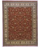 RugStudio presents Lotfy and Sons Narmada 320 Red/Ivory Hand-Knotted, Best Quality Area Rug